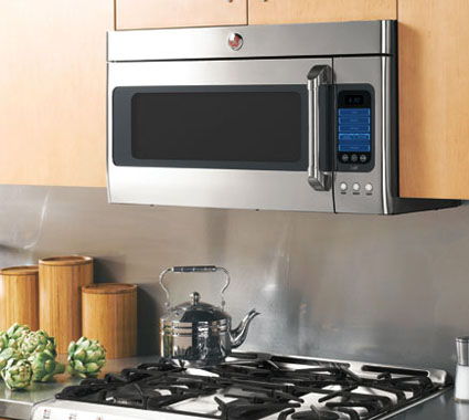 Kitchen Design/Remodeling: Above stove - microwave install, base
